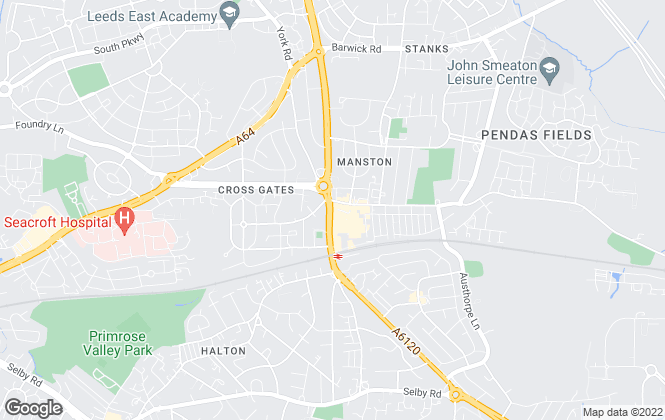 Map for William H. Brown - Lettings, Crossgate Lettings