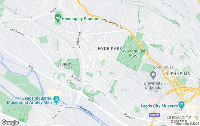 Map for 2View Properties, Leeds