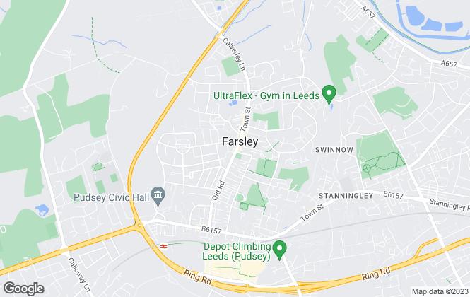 Map for Dawson Wake, Leeds