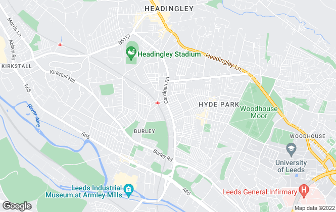 Map for Sugarhouse Properties, Leeds