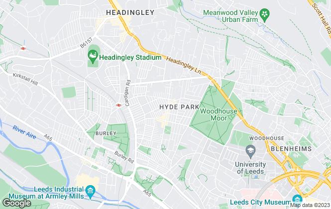 Map for Leeds Prime Properties, Leeds