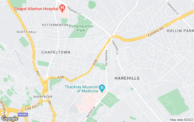 Map for  Care 4 Properties, Leeds