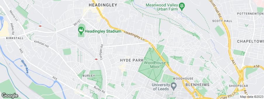 Map for Chartford Developments