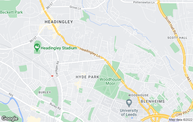Map for Stone House Properties, Leeds