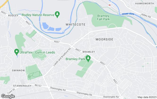 Map for LettingsandSales.com, Leeds