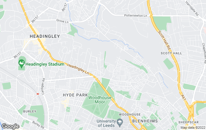 Map for Haus Sales & Lettings, Leeds