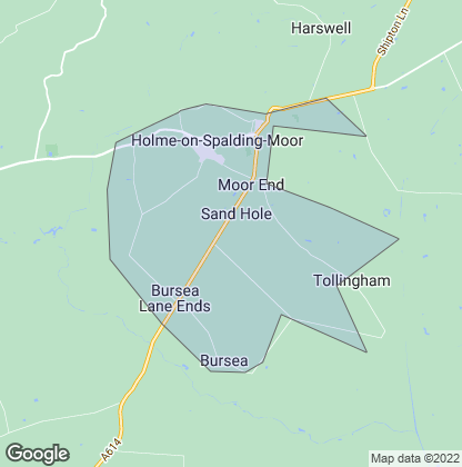 Map of property in Holme-On-Spalding-Moor