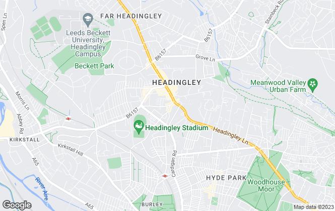 Map for sbliving, Leeds