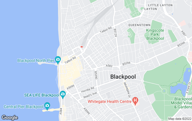 Map for Move Holmes Ltd, Blackpool