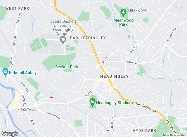 Map for Moores Estate Agents, Headingley