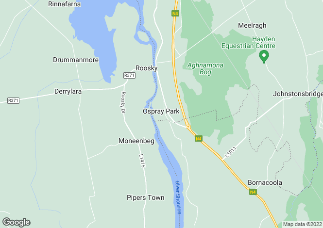 Map for Roosky, Leitrim