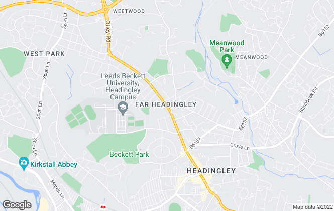 Map for Dwell, Leeds