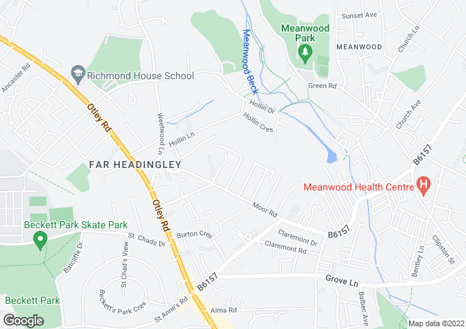 Map for Castle Grove Avenue,