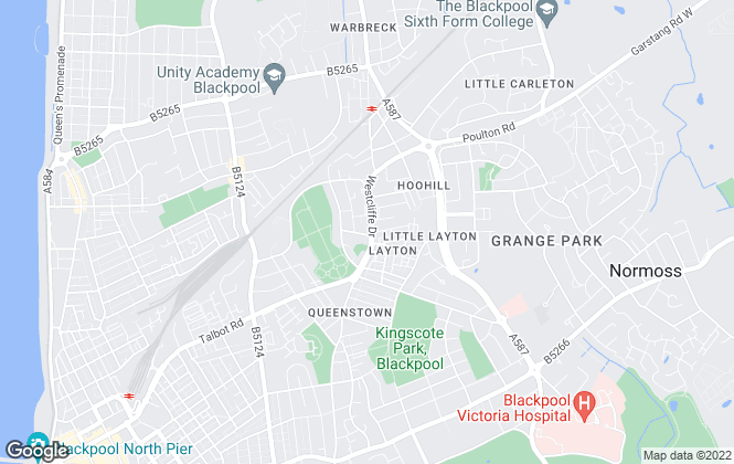 Map for Hindley & Lamb, Layton