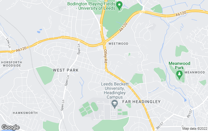 Map for Dacre Son & Hartley, North Leeds - Lettings