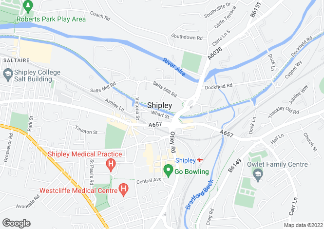 Map for Block C, Shipley Wharf,