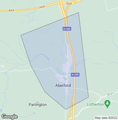 Map of property in Aberford