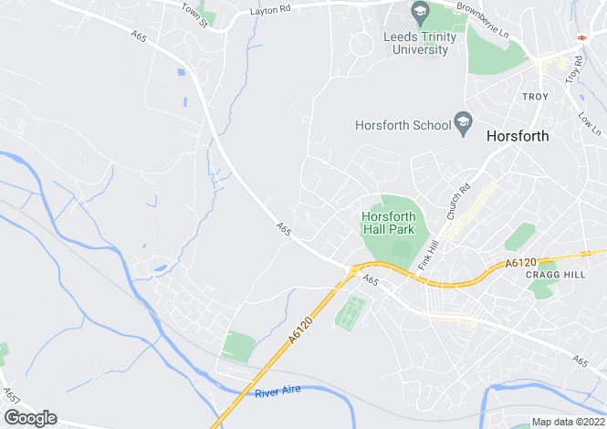 Map for The White House, Grange Close, Horsforth, Leeds