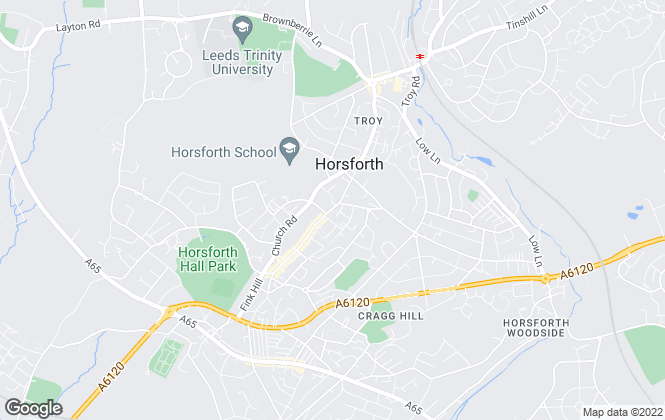 Map for Townend Estate Agents, Horsforth