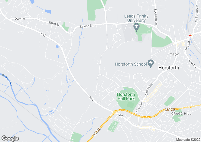 Map for West End Lane, Horsforth, Leeds, LS18