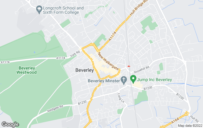 Map for Martin & Co, Beverley - Lettings & Sales