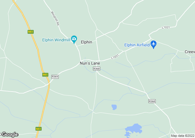 Map for Elphin, Roscommon