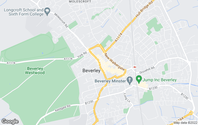 Map for Clubleys, Beverley