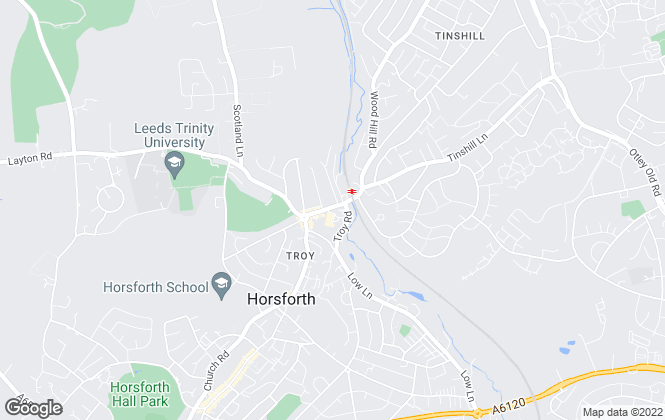 Map for Linley & Simpson, Horsforth