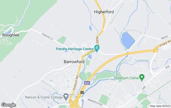Map for Petty Estate Agents Ltd, Barrowford