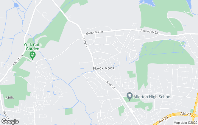 Map for Monroe Estate Agents, Leeds