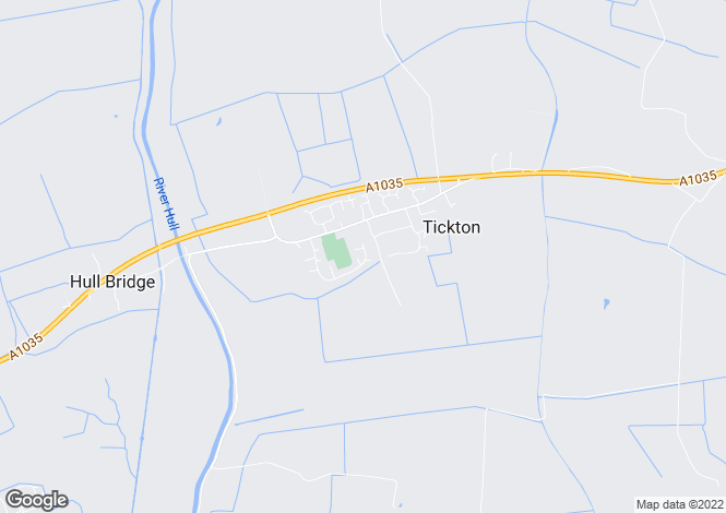Map for 101, Churchfields, Tickton, East Yorkshire