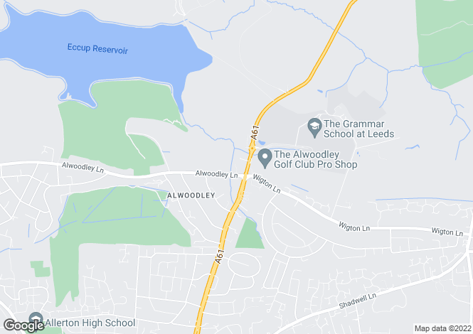 Map for Sovereign Court, Alwoodley, Leeds