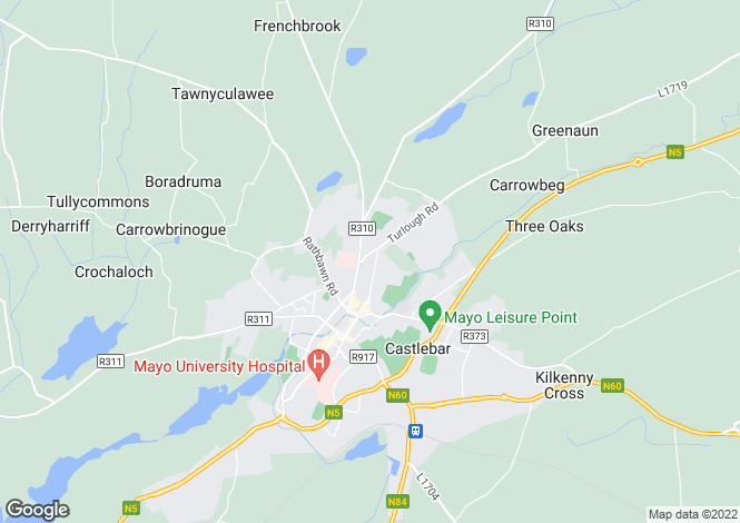 Map for Investment Property, 29 Castlegrove, Castlebar, Co Mayo