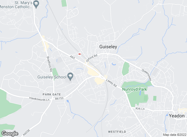 Map for Dacre Son & Hartley, Guiseley