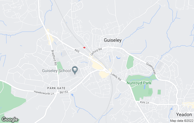 Map for Dacre Son & Hartley, Guiseley - Lettings