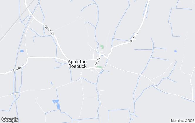Map for Whistles of York, Appleton Roebuck