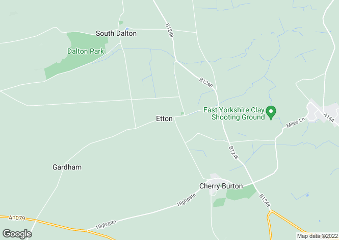 Map for 81, Main Street, Etton, East Yorkshire