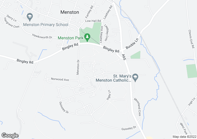 Map for ASH II at The Glade, Newby Close,