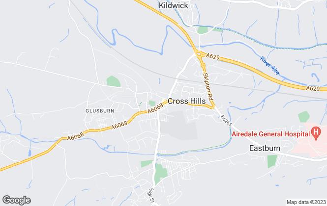 Map for Wilman & Wilman, Cross Hills