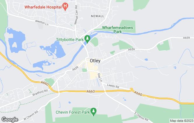 Map for Easy Location Ltd, Otley