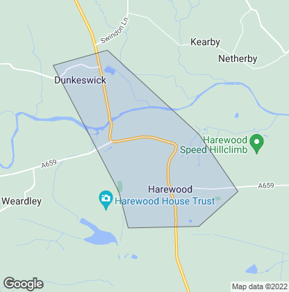 Map of property in Harewood