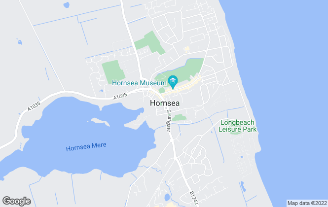 Map for Hornsea Property Services, Hornsea
