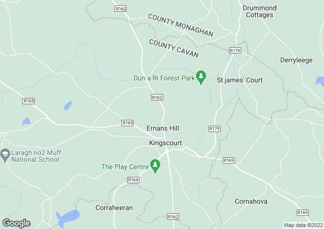 Map for 28 Oak Grove, , Kingscourt, Cavan