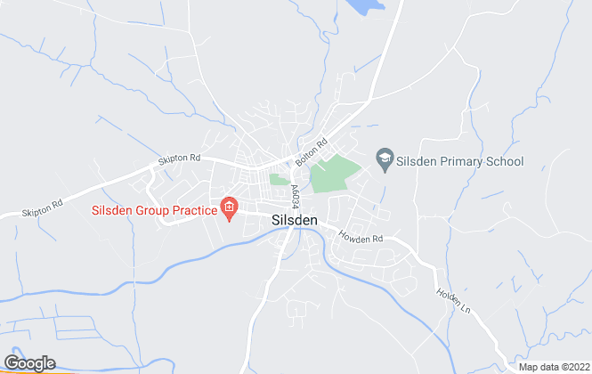 Map for Wilman & Lodge, Silsden
