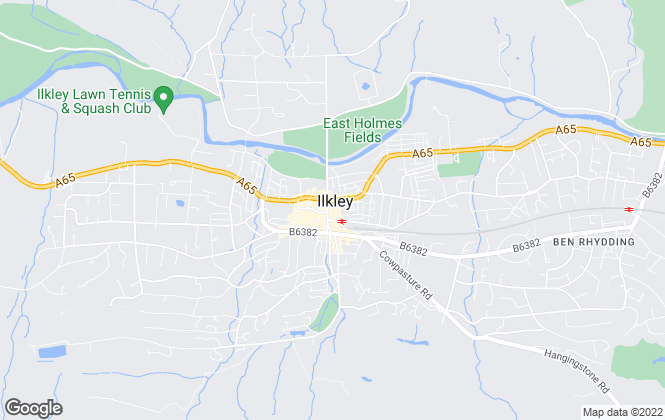 Map for Linley & Simpson, Ilkley