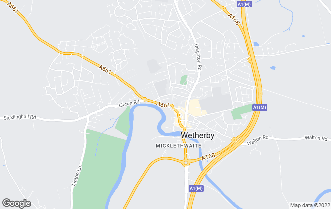 Map for Linley & Simpson , Wetherby