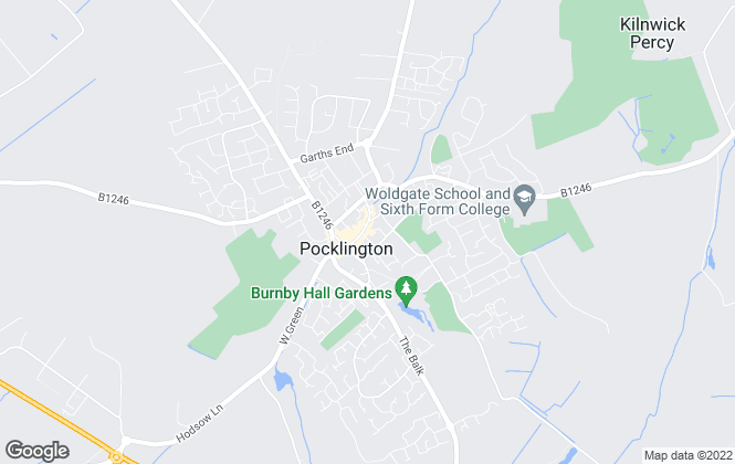 Map for Sweetmove, Pocklington