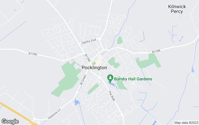 Map for Clubleys, Pocklington