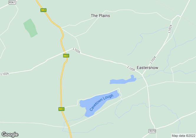 Map for Roscommon, Croghan