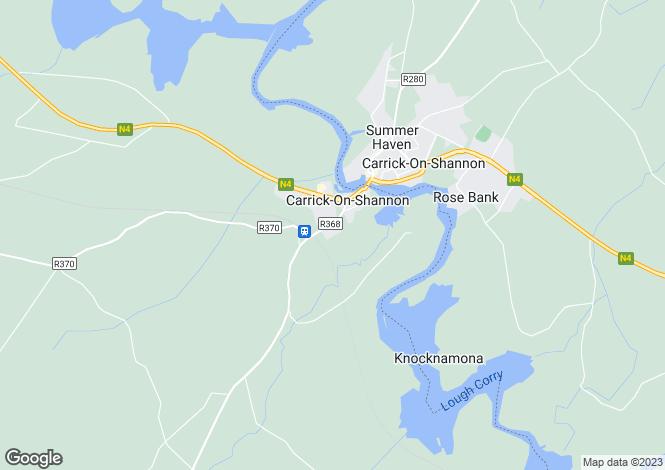 Map for 11 Glenpatrick, Carrick-on-Shannon, Roscommon
